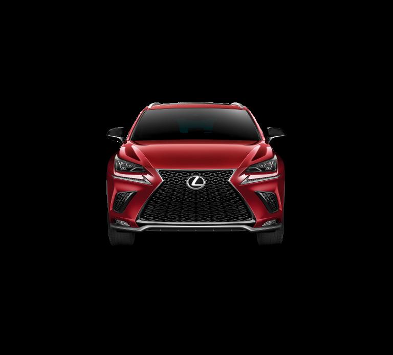 Demo Lexus Nx Crossover 300h AWD - E-CVT F SPORT Line 3R1 - Red Mica CS 4