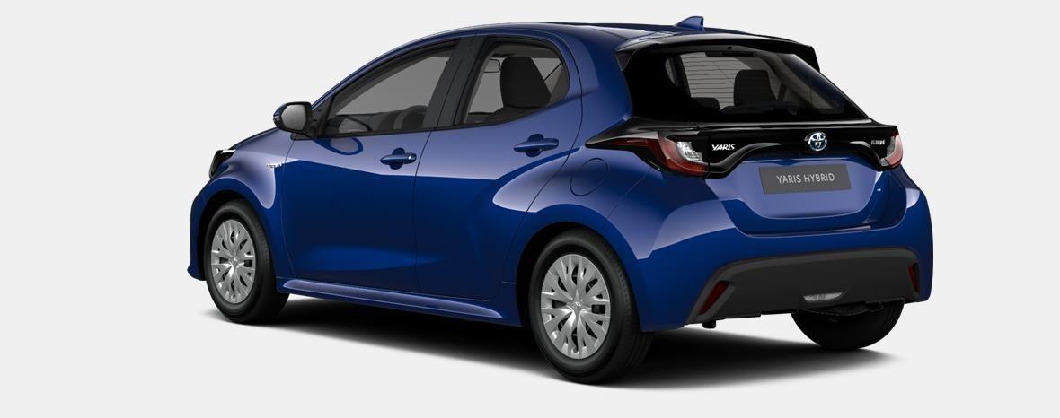 Nieuw Toyota Yaris 5 d. 1.5 Hybrid e-CVT Dynamic LHD 8W7 - COBALT BLUE METALLIC 2