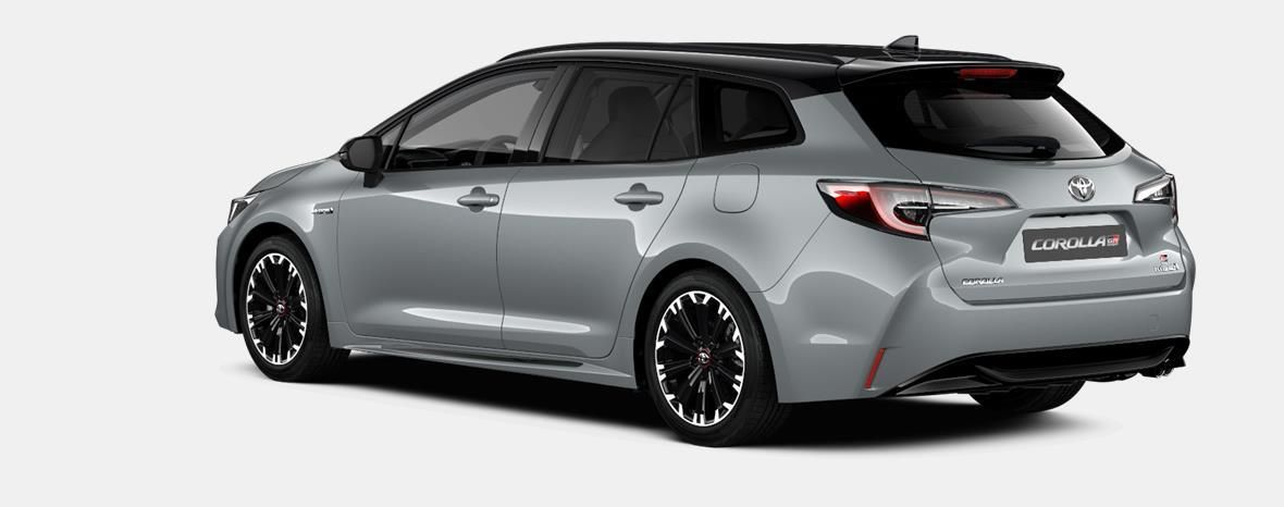 Nieuw Toyota Corolla hb & ts Touring Sports 2.0 Hybrid CVT Style LHD 1J6 - PRECIOUS SILVER METALLIC 2