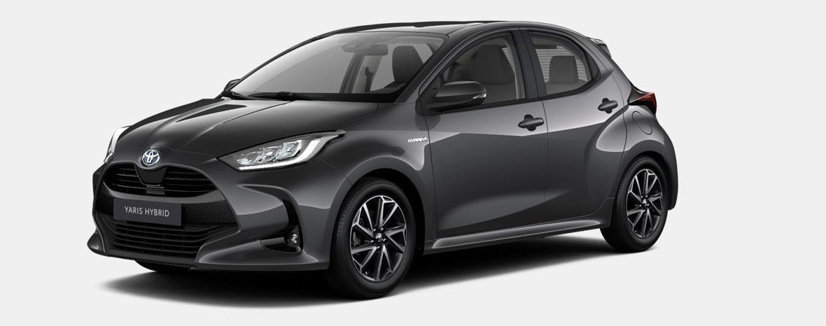 Demo Toyota Yaris 5 d. 1,5 Hybrid e-CVT Comfort & Pack Y-C 1G3 - DARK GREY METALLIC 1