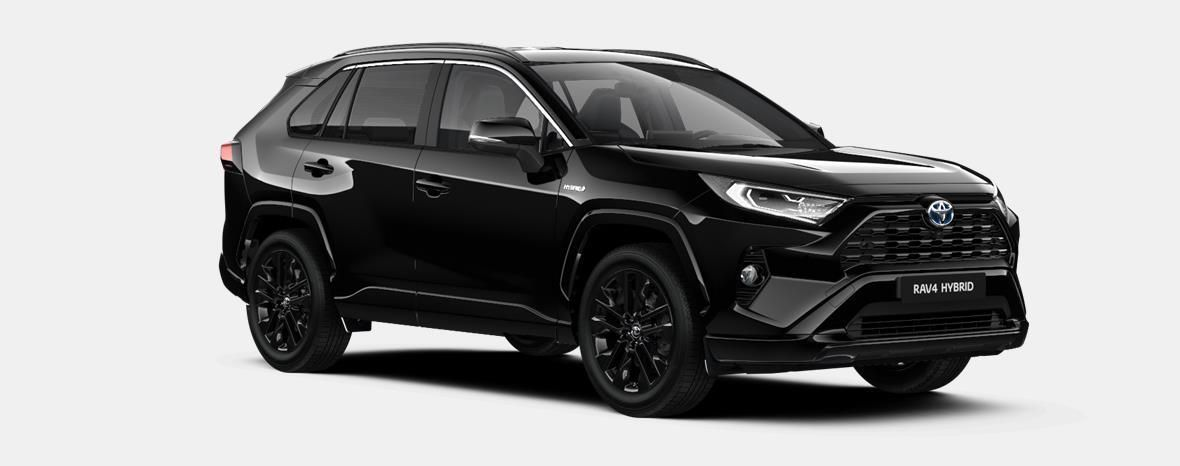 Nieuw Toyota Rav4 5 d. 2.5 Hybrid 2WD e-CVT Black Edition 218 - BLACK MICA 4