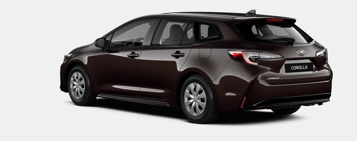 Nieuw Toyota Corolla hb & ts Touring Sports 1.8 e-CVT Hybrid CVT Dyna 4W9 - PHANTOM BROWN METALLIC 4