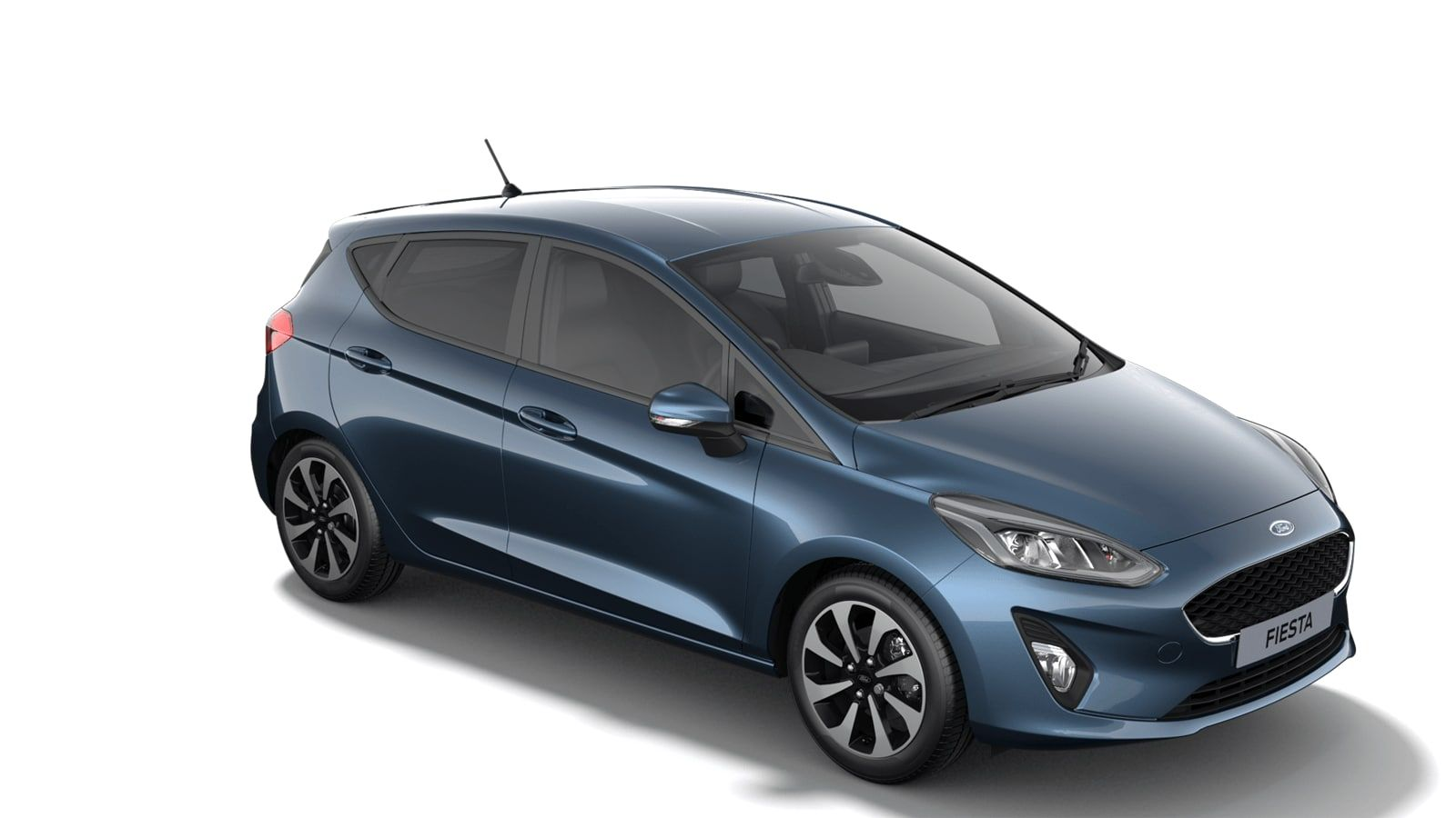 """Nieuw Ford All-new ford fiesta Connected 1.0i EcoBoost 95pk / 70kW M6 - 5d JKC - Metaalkleur """"Chrome Blue"""" 2"""