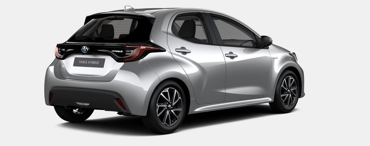 Nieuw Toyota Yaris 5 d. 1.5 VVT-iE 6MT Dynamic LHD 1F7 - ULTRA SILVER METALLIC 4