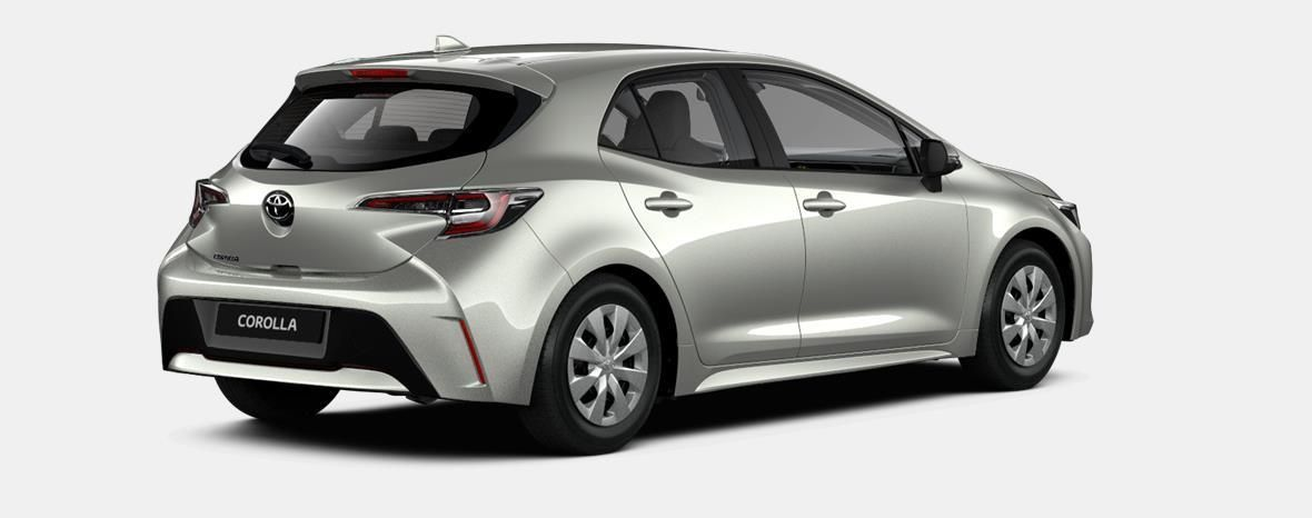 Nieuw Toyota Corolla hb & ts Hatchback 1.2 Turbo petrol 6 MT Dynamic 1J6 - PRECIOUS SILVER METALLIC 4
