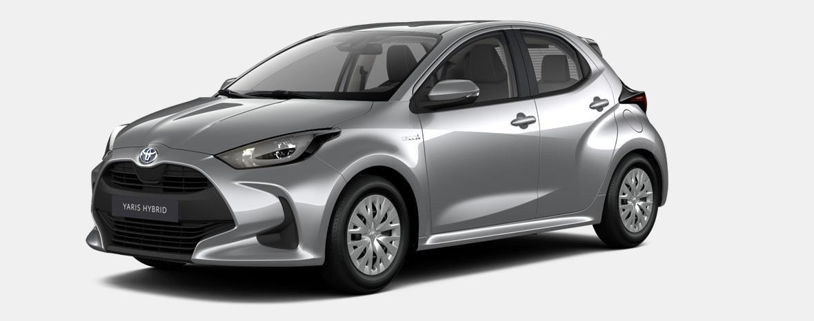 Nieuw Toyota Yaris 5 d. 1.5 Hybrid e-CVT Dynamic LHD 1F7 - ULTRA SILVER METALLIC 1
