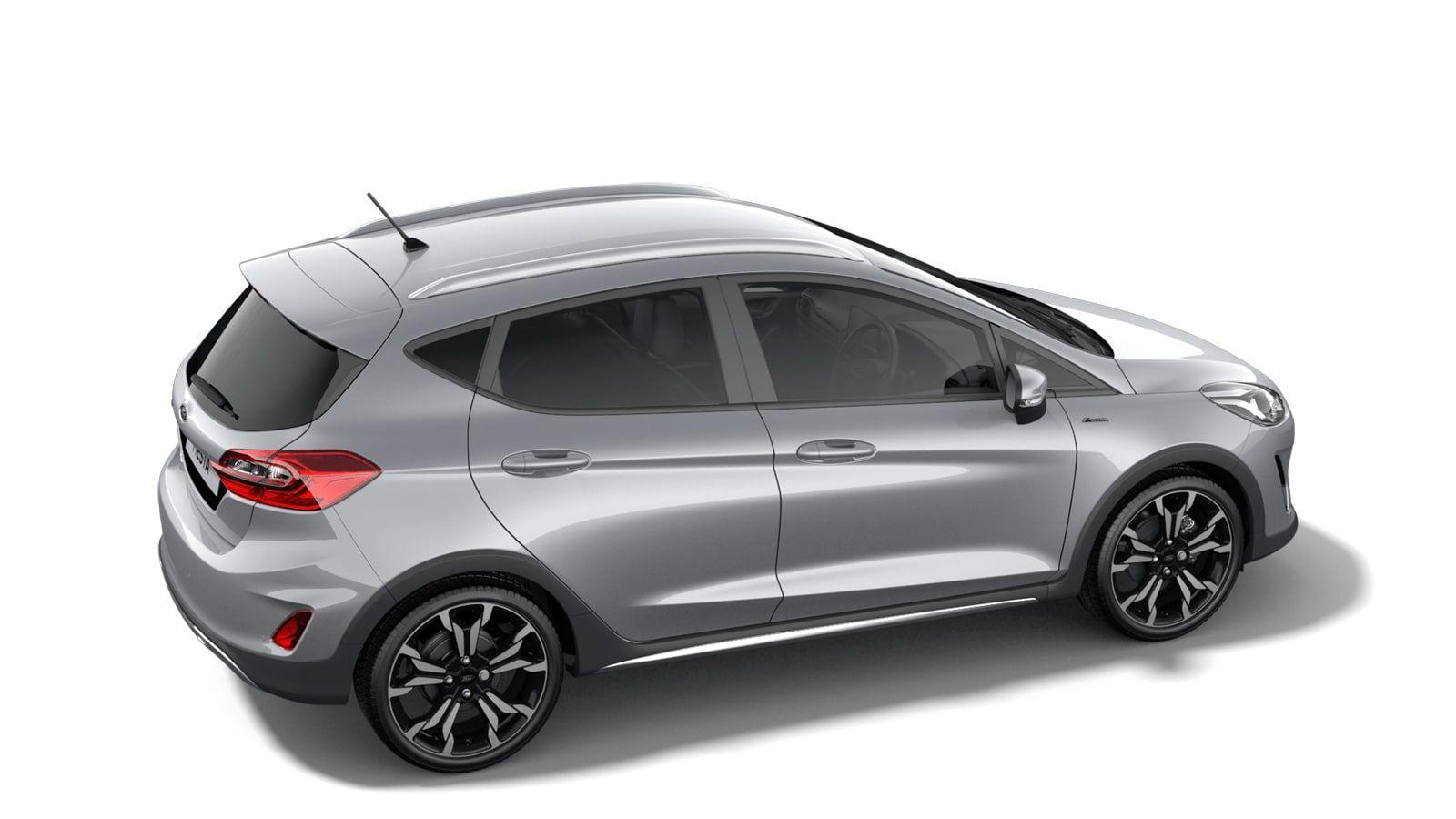 "Nieuw Ford All-new ford fiesta Active X 1.0i EcoBoost 125pk / 92kW A7 - 5d JK6 - Metaalkleur ""Moondust Silver"" 3"