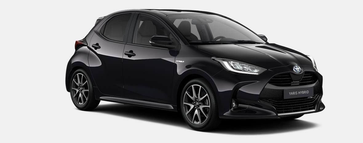 Nieuw Toyota Yaris 5 d. 1.5 Hybrid e-CVT Style LHD 209 - BLACK MICA 4