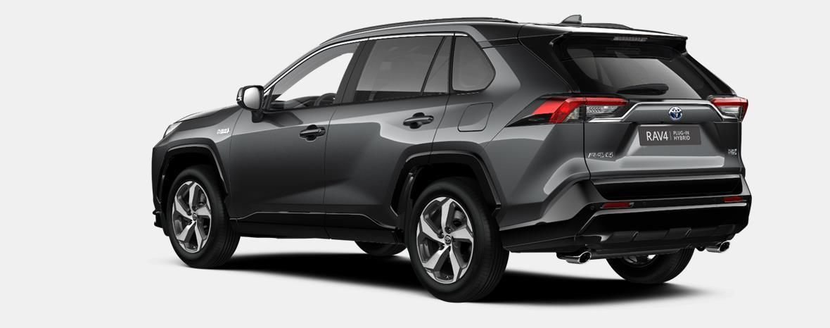 Nieuw Toyota Rav4 plug-in SUV LWB Plug-in CVT Premium Plus LHD 1G3 - DARK GREY METALLIC 2