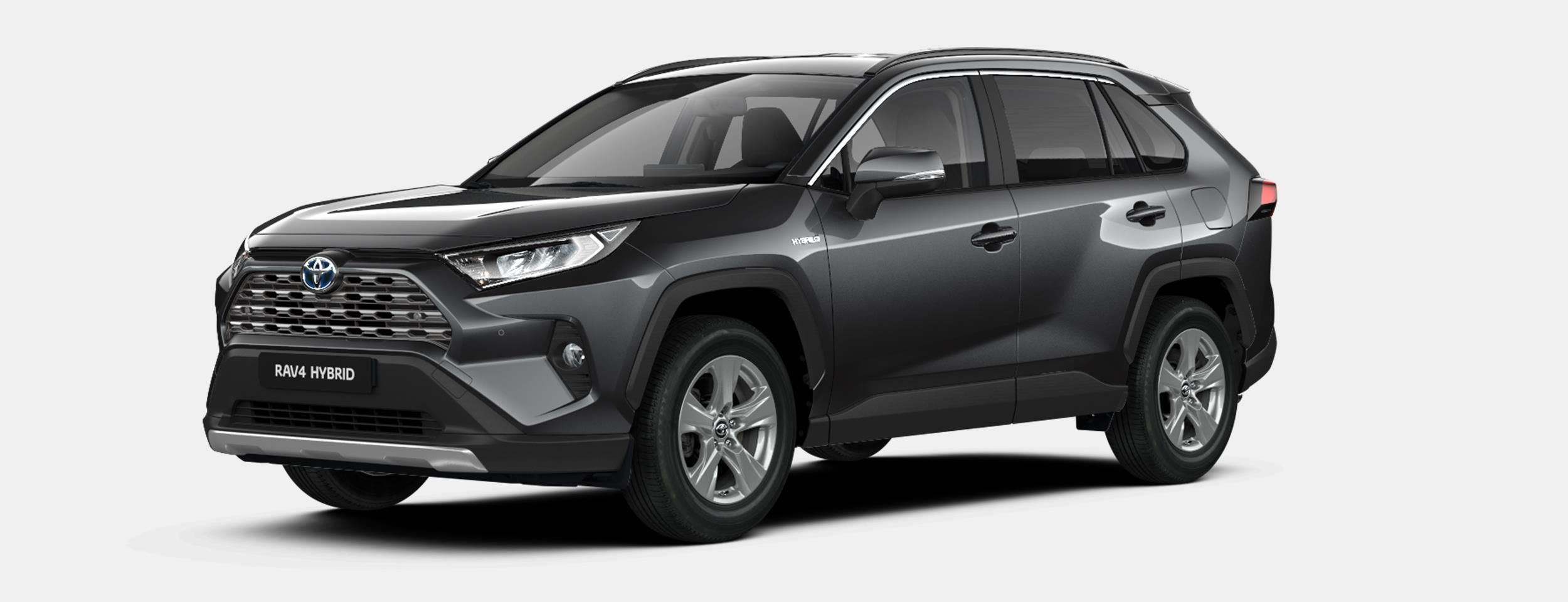 Nieuw Toyota Rav4 5 d. 2.5 Hybrid 2WD e-CVT Premium Plus L 1G3 - DARK GREY METALLIC 2