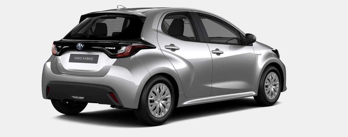 Nieuw Toyota Yaris 5 d. 1.5 Hybrid e-CVT Dynamic LHD 1F7 - ULTRA SILVER METALLIC 3