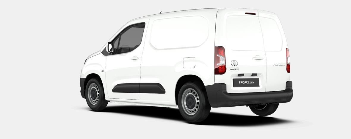 Nieuw Toyota Proace city Panel Van SWB 1.2L Petrol MT Active LHD EWP - WHITE 2