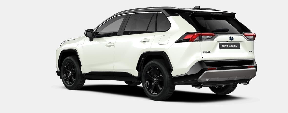 Nieuw Toyota Rav4 5 d. 2.5 Hybrid 2WD e-CVT Style Plus LHD 2QJ - WHITE PEARL / BI-TONE 2