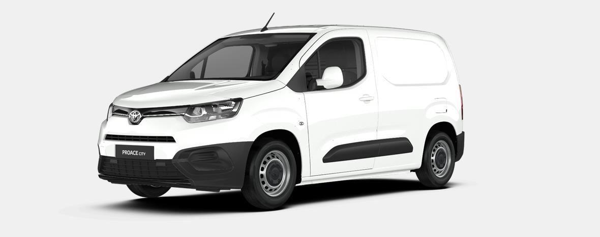 Nieuw Toyota Proace city Panel Van SWB 1.5L Diesel 100hp MT Activ EWP - WHITE 1