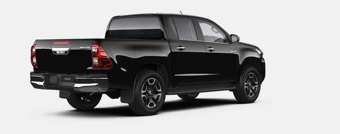 Nieuw Toyota Hilux 4x4 Double Cab 2.8 204hp 6AT Invincible LHD 218 - BLACK MICA 3