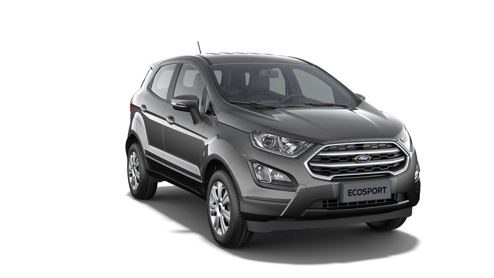 "Nieuw Ford New ecosport Connec 1.0i EcoBoost 100pk / 74kW M6 5d 6GQ. - Speciale metaalkleur ""Magnetic"" 2"