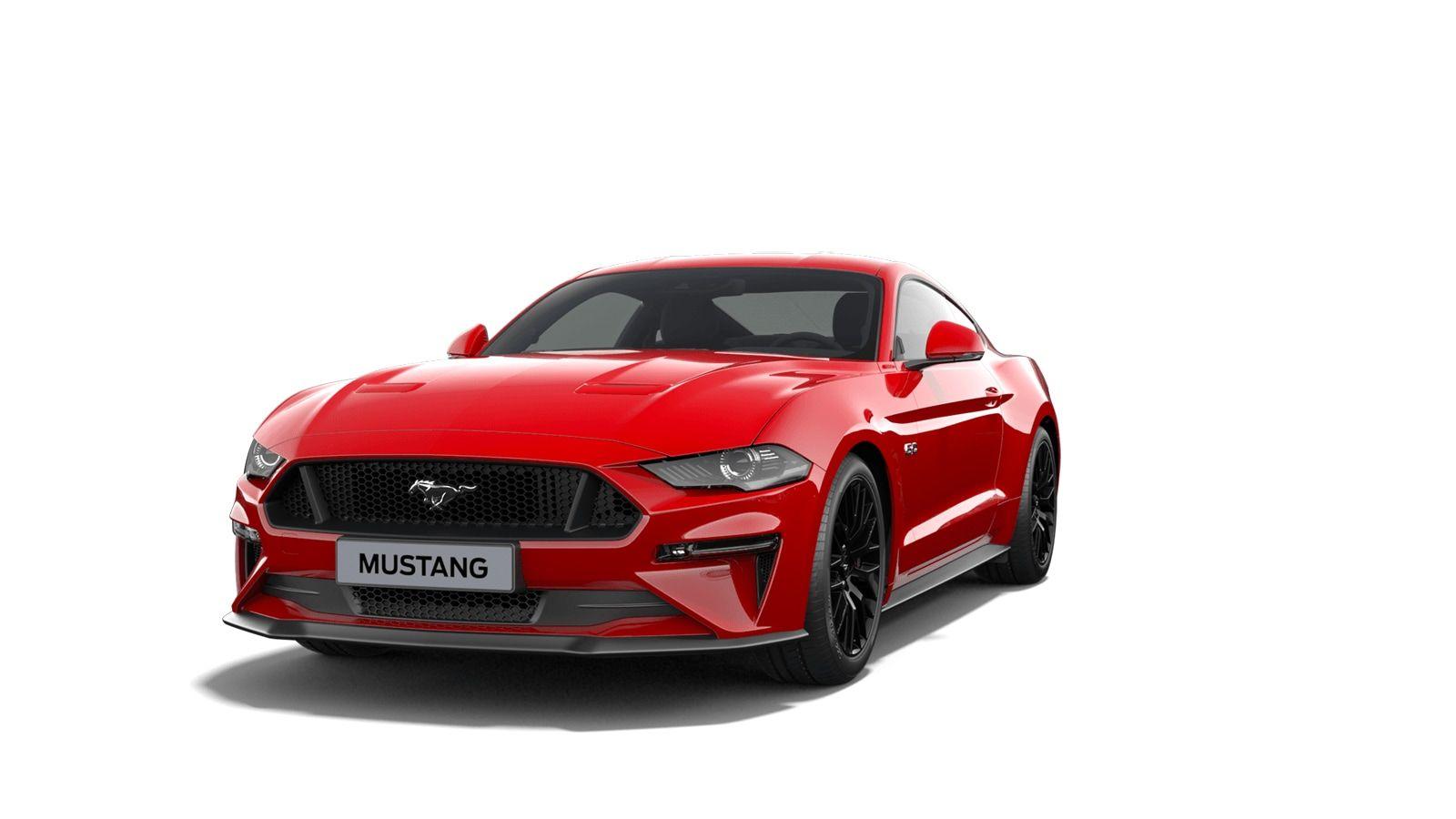 "Nieuw Ford Mustang s550 my19 GT 5.0i V8 449pk / 330kW M6 - Fastback IMF - ""Race Red"" speciale niet-metaalkleur 1"