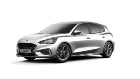 "Nieuw Ford Focus ST-Line X 1.5 EcoBlue 120pk / 88kW A8 - Clipper FCO - ""Moondust Silver"" Metaalkleur"