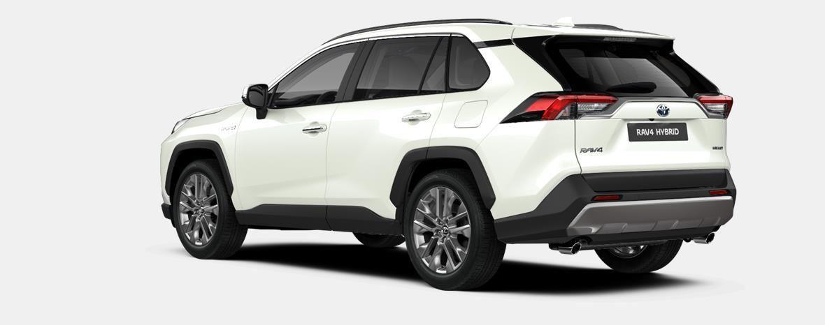 Nieuw Toyota Rav4 5 d. 2.5 Hybrid 2WD e-CVT Premium Plus L 070 - WHITE PEARL (070) 2