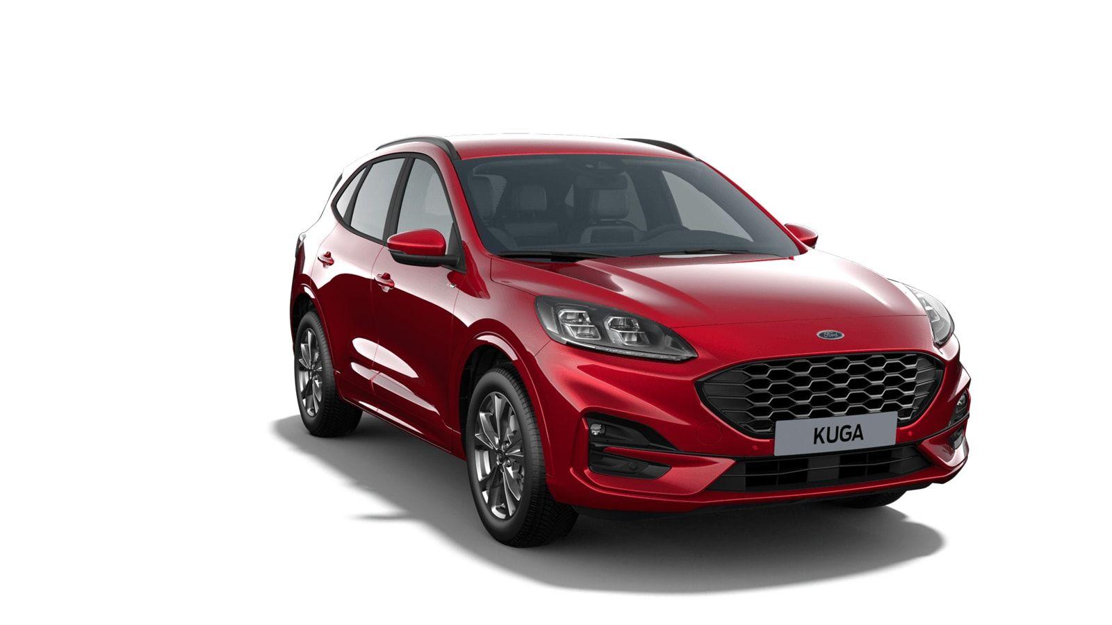 "Demo Ford All-new kuga ST-Line X 1.5 EcoBoost 150pk M6 NYE - ""Lucid Red"" Exclusieve metaalkleur 4"