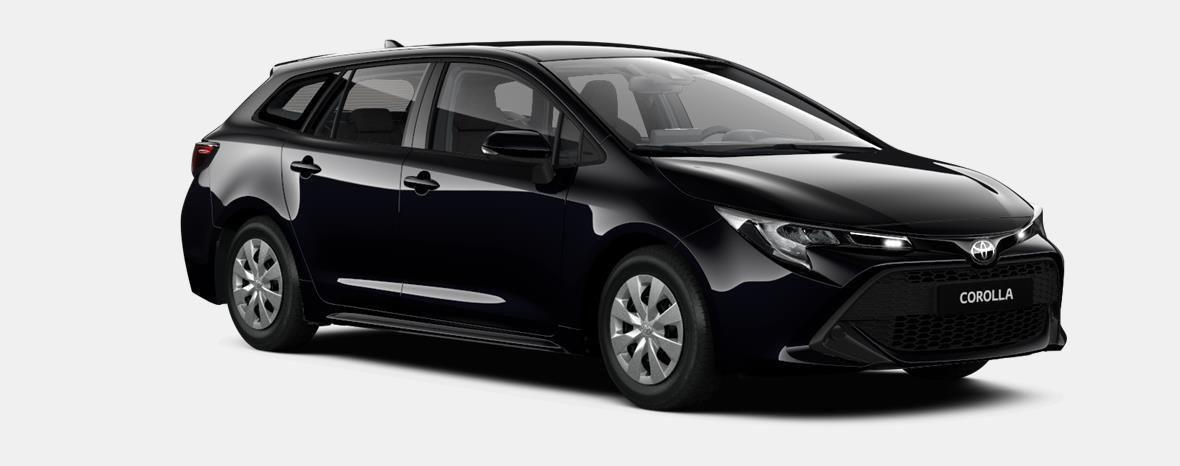 Nieuw Toyota Corolla hb & ts Touring Sports 1.8 e-CVT Hybrid CVT Prem 209 - BLACK MICA 2