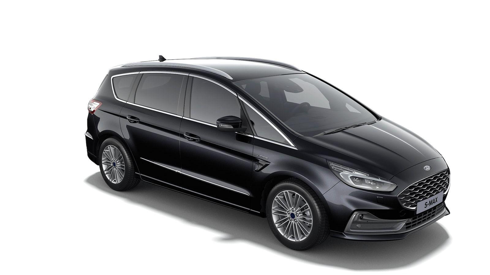 "Nieuw Ford S-max Vignale 2.0 TDCi 190pk / 139kW Auto-Start-Stop A8 - 5d 9I6 - ""Agate Black Vignale"" metaalkleur 4"