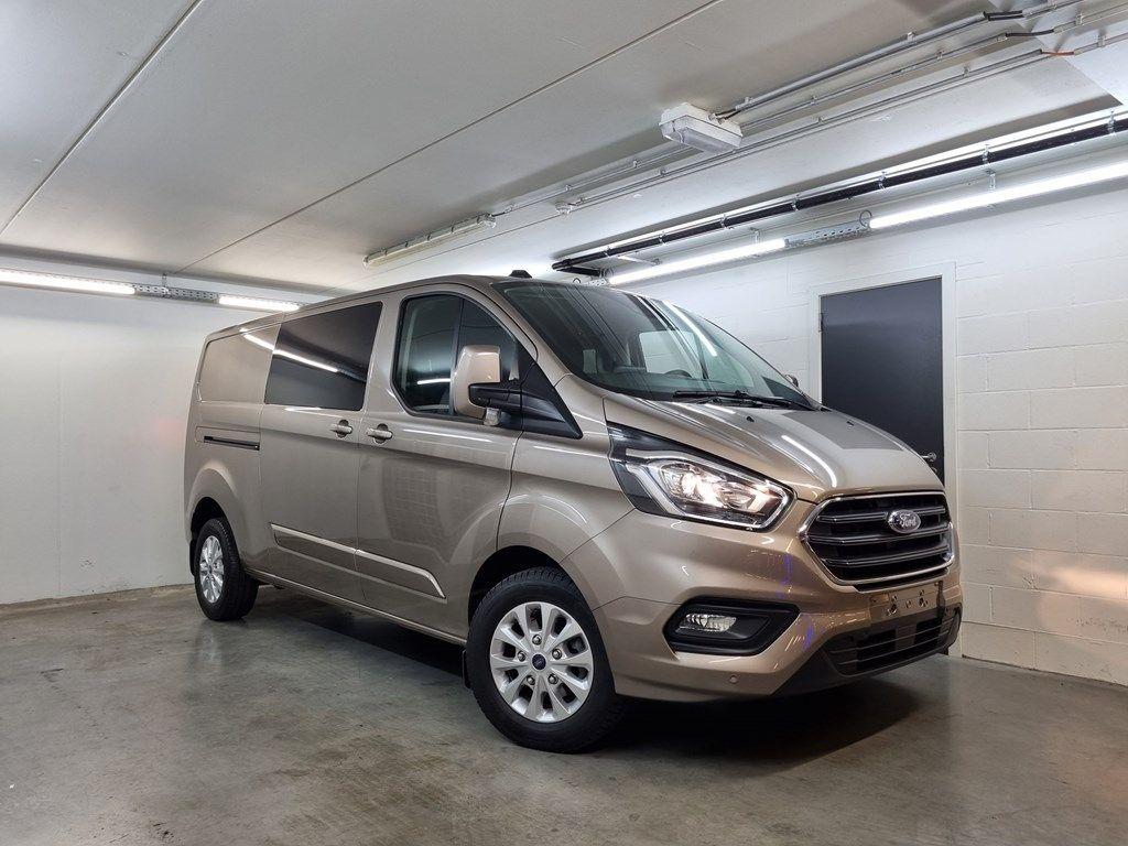 Occasie Ford Transit custom 320L Multi use: bestelwagen met dubbele cabine L2 Limited M6 2