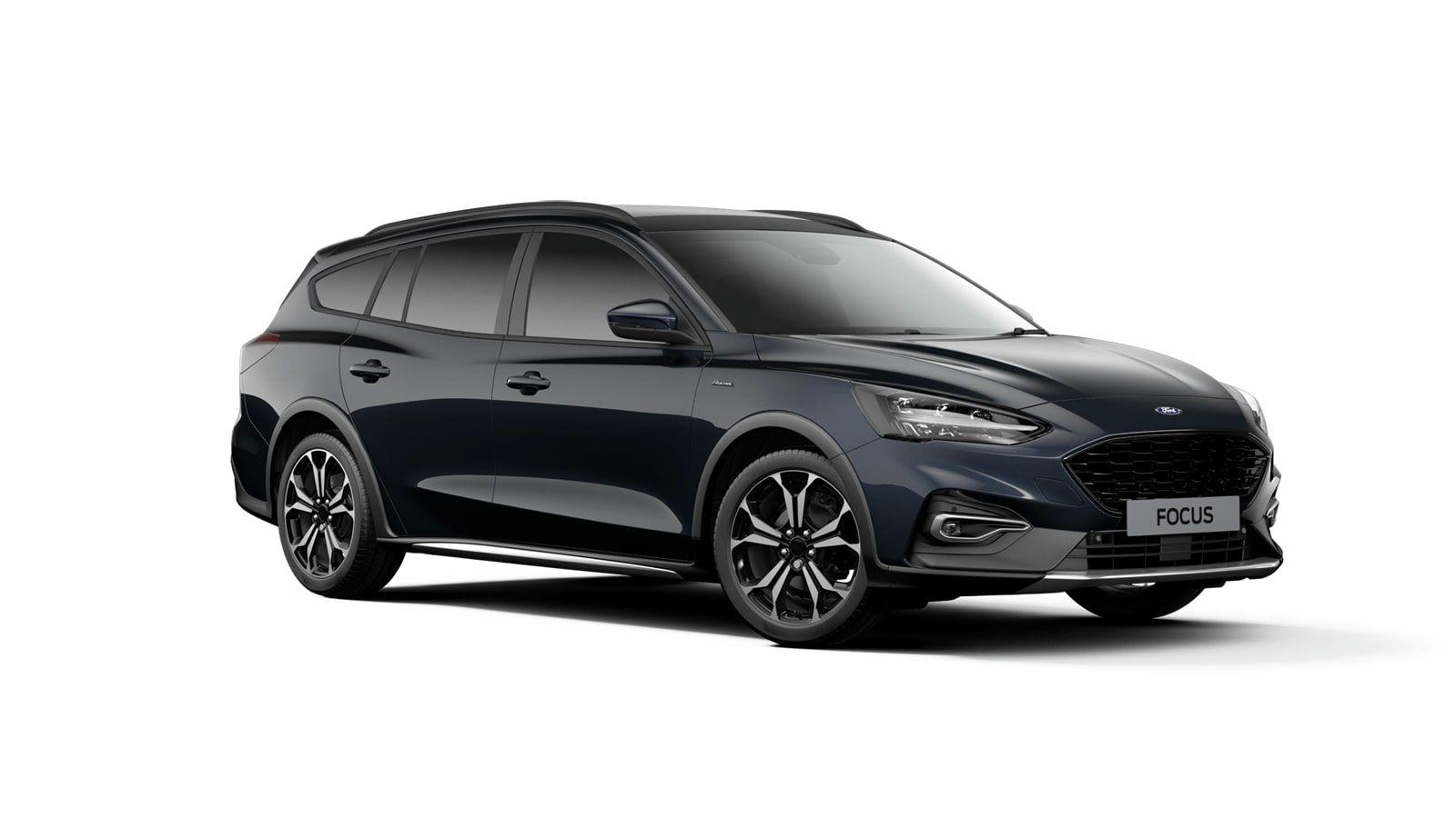 "Nieuw Ford Focus Active X 1.5 EcoBlue 120pk / 88kW A8 - 5d FCD - ""Panther Blue"" Exclusieve metaalkleur 4"