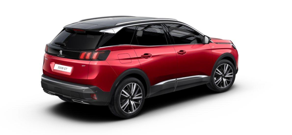 Nieuw Peugeot 3008 SUV GT Pack 1.2 PureTech 130 ch ?6.3 EAT8 Rouge Ultimate (M5F3) 2