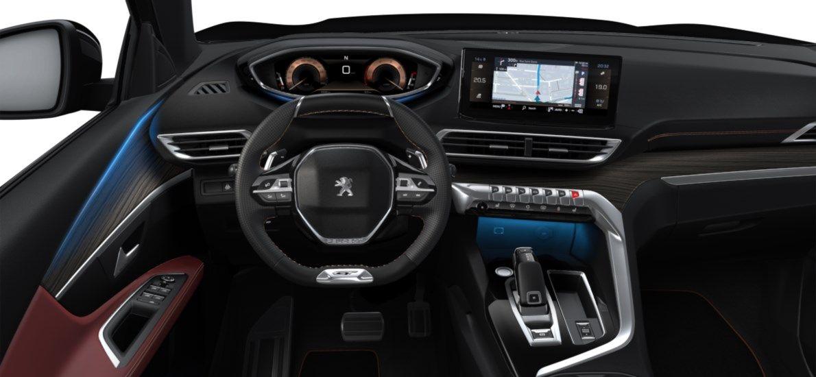 Nieuw Peugeot 3008 SUV GT 1.5 BlueHDi 130 ch EAT8 Noir Perla Nera (M09V) 10