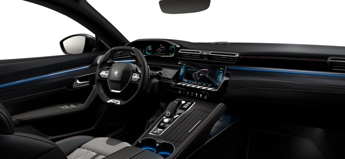 Nieuw Peugeot 508 SW GT Pack Hybrid 1.6 Hybrid 225 4X2 AUTOMATIQUE 8 RA Noir Perla Nera (M09V) 10