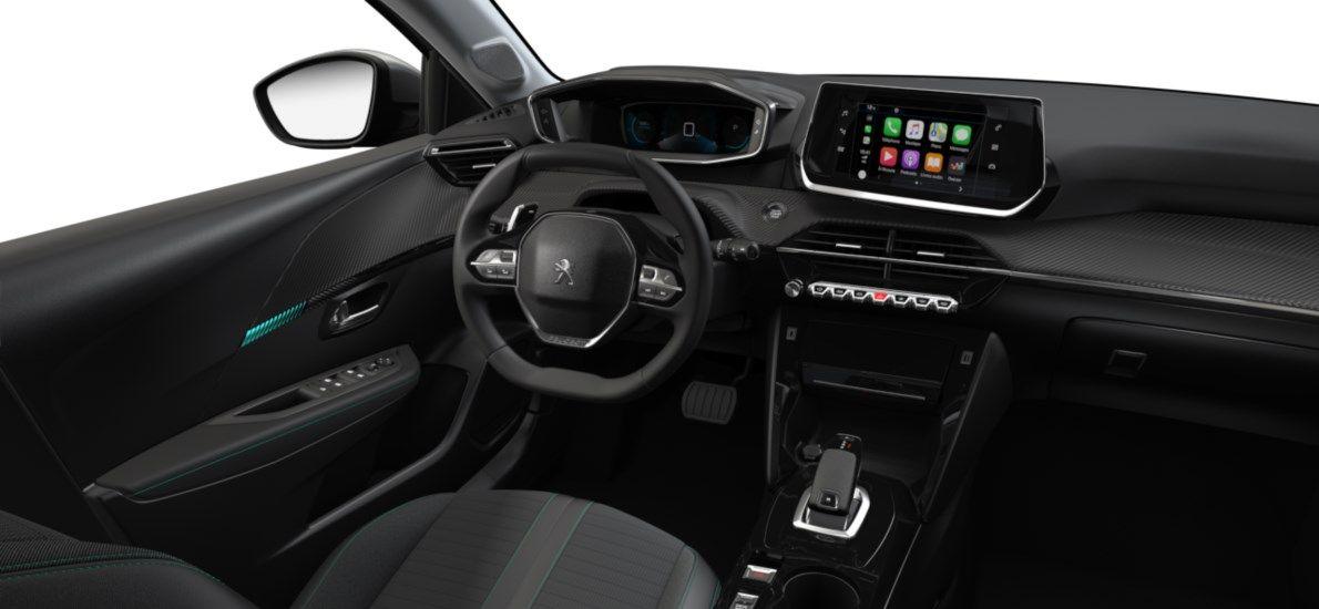 Nieuw Peugeot New 208 Berline 5 portes Allure Pack 1.2 PureTech 100ch EAT8 Gris Artense (M0F4) 10