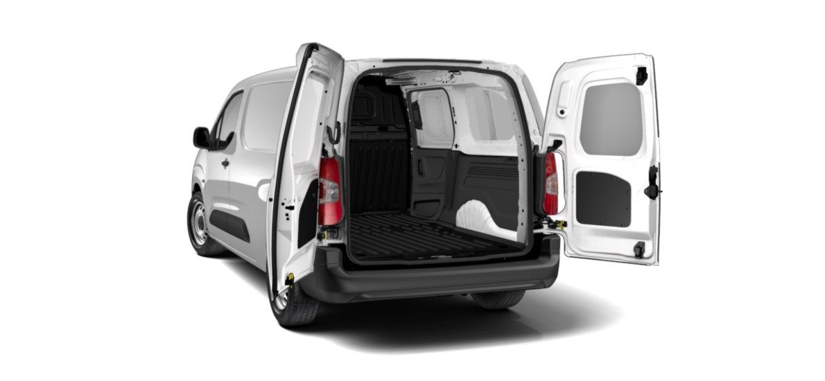Nieuw Peugeot Partner Long Heavy Premium 1.5 BlueHDi 130ch S&S S&S Manuelle 6 vitesses Blanc Banquise (P0WP) 4