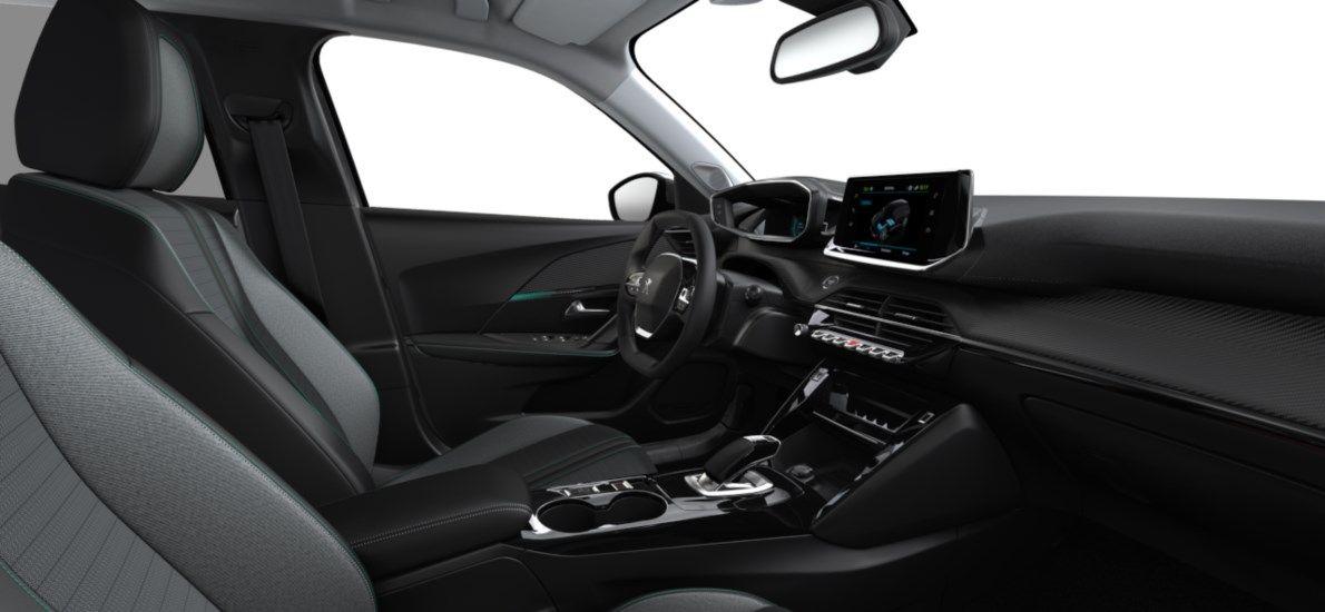 Nieuw Peugeot New 2008 SUV Allure Pack Electrique e- AUTOMATIQUE A REDUCT Gris Artense (M0F4) 11