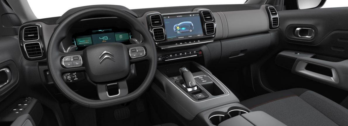 Nieuw Citroen SUV C5 Aircross SUV Feel EP6FADTXHP 1.6L ESS 4X2 AUTOMATIQUE 8 RA Gris Platinium (M0VL) 10