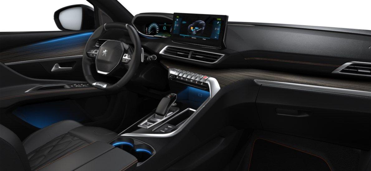 Nieuw Peugeot 3008 SUV GT Pack Hybride Hybrid 225 ch 4X2 AUTOMATIQUE 8 RA Blanc Nacré (M6N9) 11