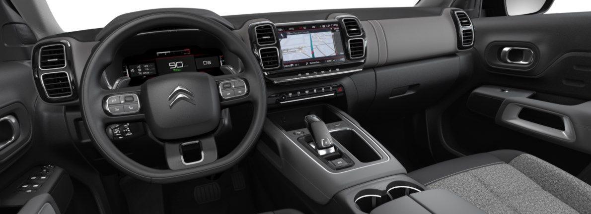 Nieuw Citroen SUV C5 Aircross SUV Feel Hybride DV5RC/UE63 1.5L DIES EAT8 Gris Platinium (M0VL) 10
