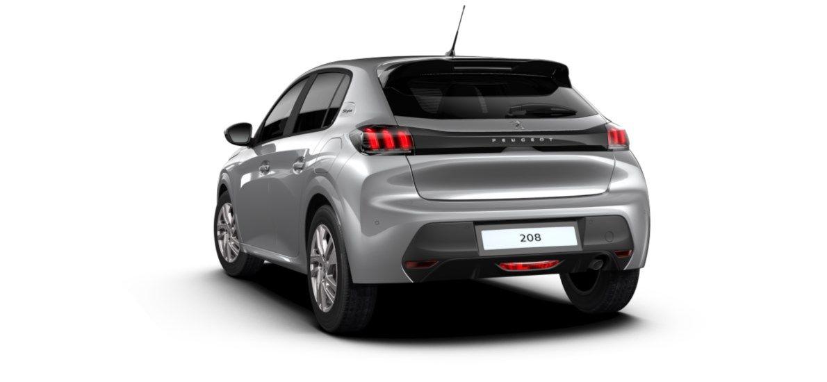 Nieuw Peugeot New 208 Berline 5 portes Active Pack 1.2 PureTech 100ch EAT8 Gris Artense (M0F4) 5