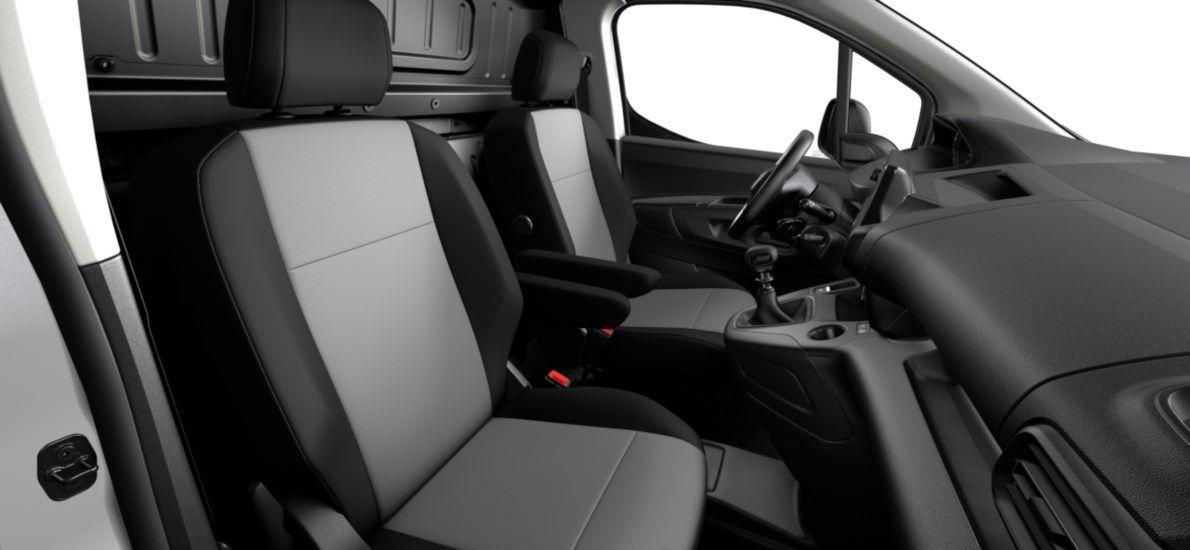 Nieuw Peugeot Partner Long Heavy Premium 1.5 BlueHDi 130ch S&S S&S Manuelle 6 vitesses Gris Platinium (M0VL) 12