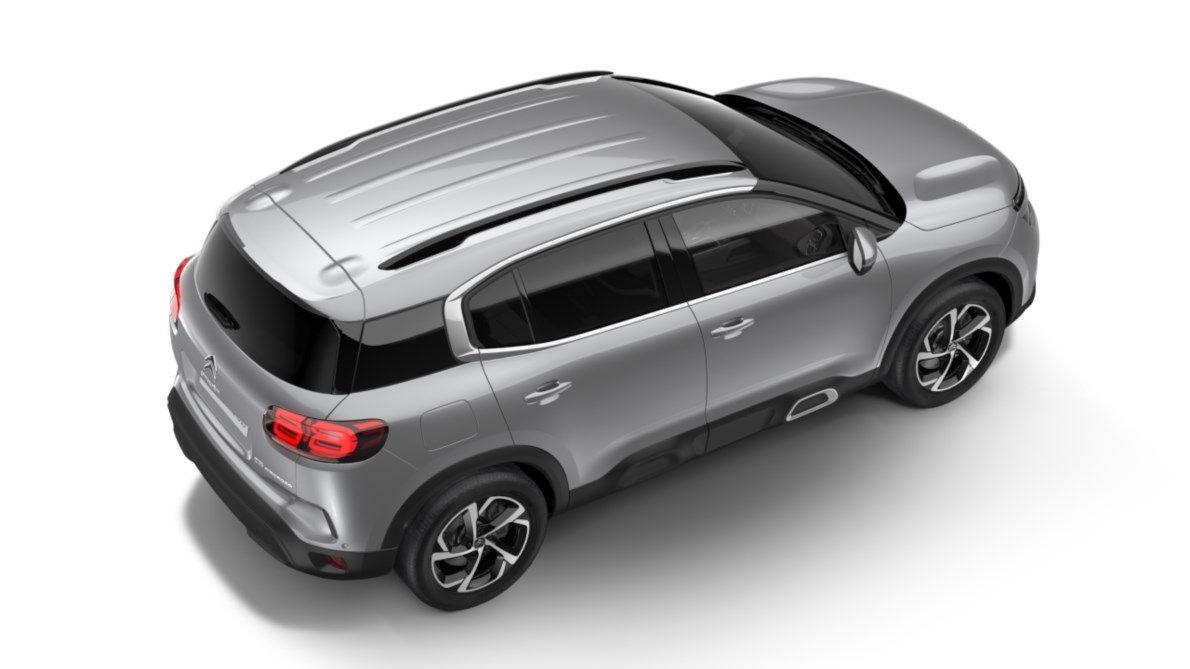 Nieuw Citroen SUV C5 Aircross SUV Feel Hybride DV5RC/UE63 1.5L DIES EAT8 Gris Platinium (M0VL) 4