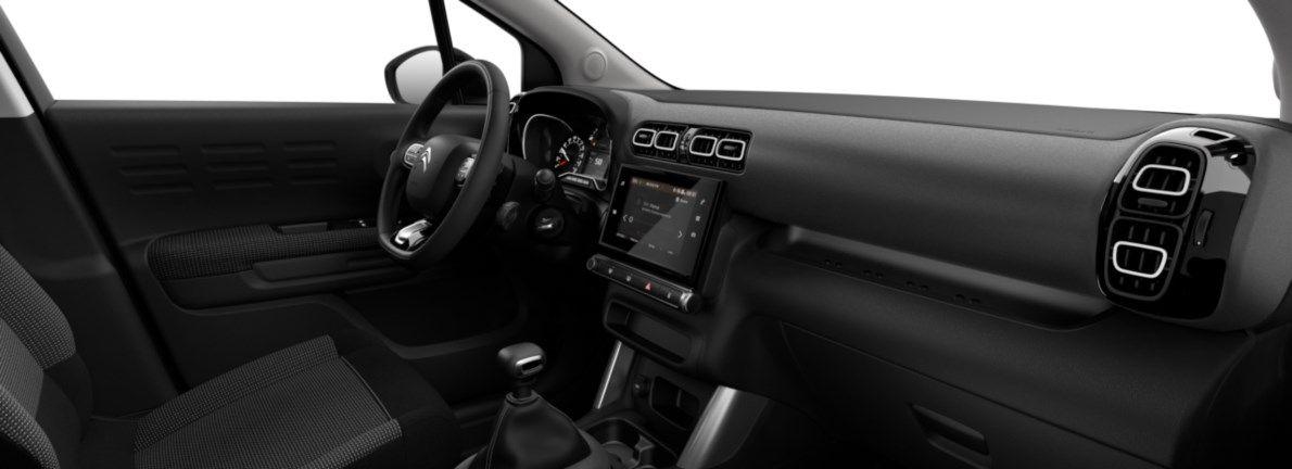 Nieuw Citroen SUV C3 Aircross BERLINE FAMILIALE MOYENNE HAUTE 1.2 PureTech 110 S&S S&S Manuelle 6 vitesses Gris Artense (M0F4) 11