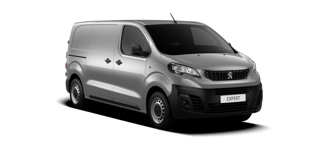 Nieuw Peugeot Expert Standard Premium 2.0 BlueHDi 120 ch S&S FAP S&S Manuelle 6 vitesses Gris Artense (M0F4) 1