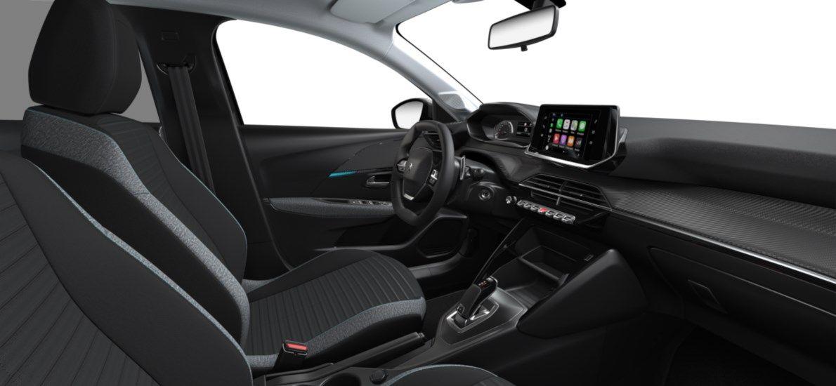 Nieuw Peugeot New 208 Berline 5 portes Active Pack 1.2 PureTech 100ch EAT8 Gris Platinium (M0VL) 11