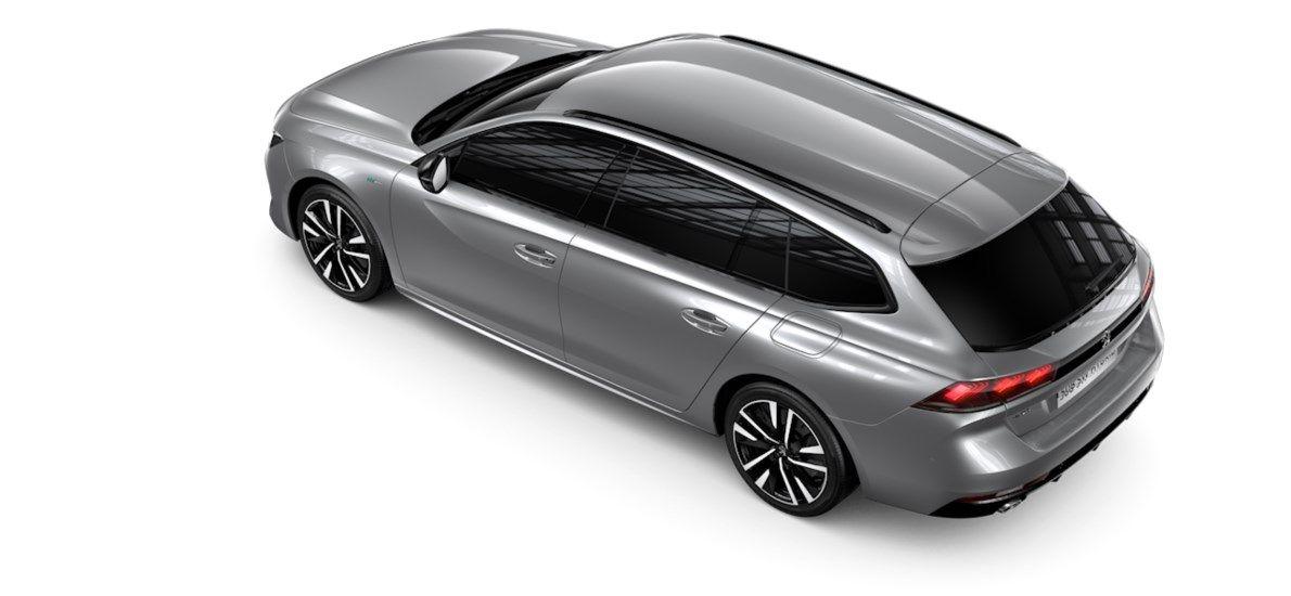 Nieuw Peugeot 508 SW GT Pack Hybrid 1.6 Hybrid 225 4X2 AUTOMATIQUE 8 RA Noir Perla Nera (M09V) 5