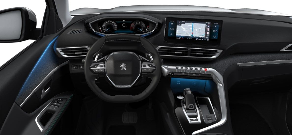 Nieuw Peugeot 3008 SUV Allure Pack Hybride Hybrid 225 ch 4X2 AUTOMATIQUE 8 RA Gris Platinium (M0VL) 10