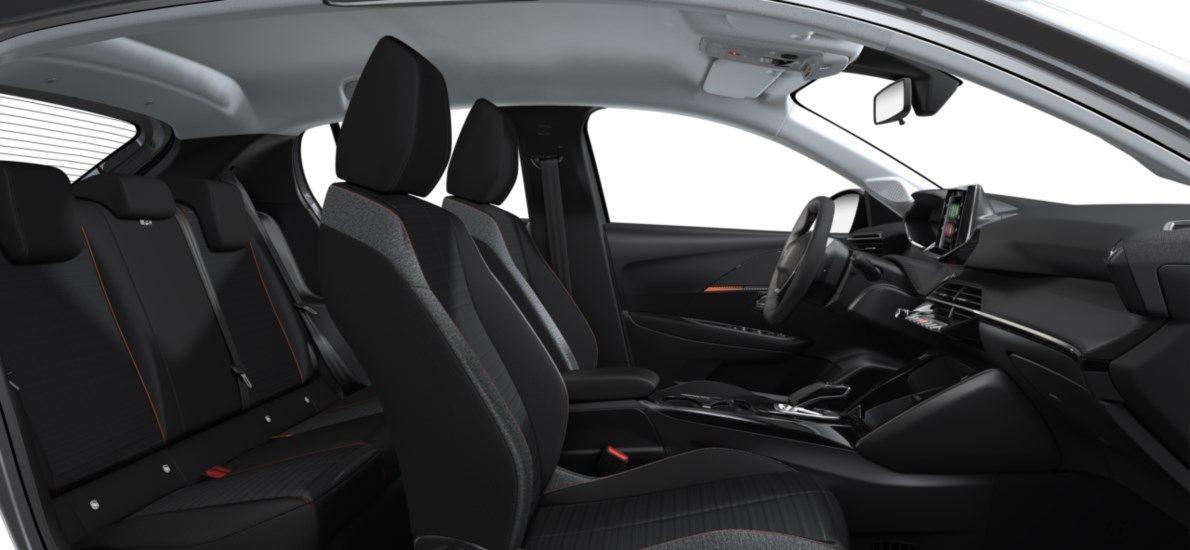 Nieuw Peugeot New 208 Berline 5 portes Active Pack Electrique e- AUTOMATIQUE A REDUCT Gris Artense (M0F4) 12