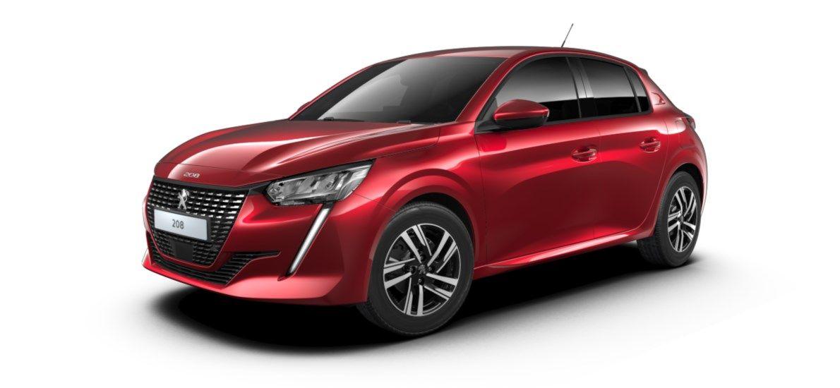 Nieuw Peugeot New 208 Berline 5 portes Allure Pack 1.2 PureTech 100ch S&S Manuelle 6 vitesses Rouge Elixir (M5VH) 2