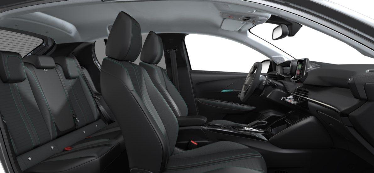 Nieuw Peugeot New 208 Berline 5 portes Allure Pack 1.2 PureTech 100ch EAT8 Gris Artense (M0F4) 12