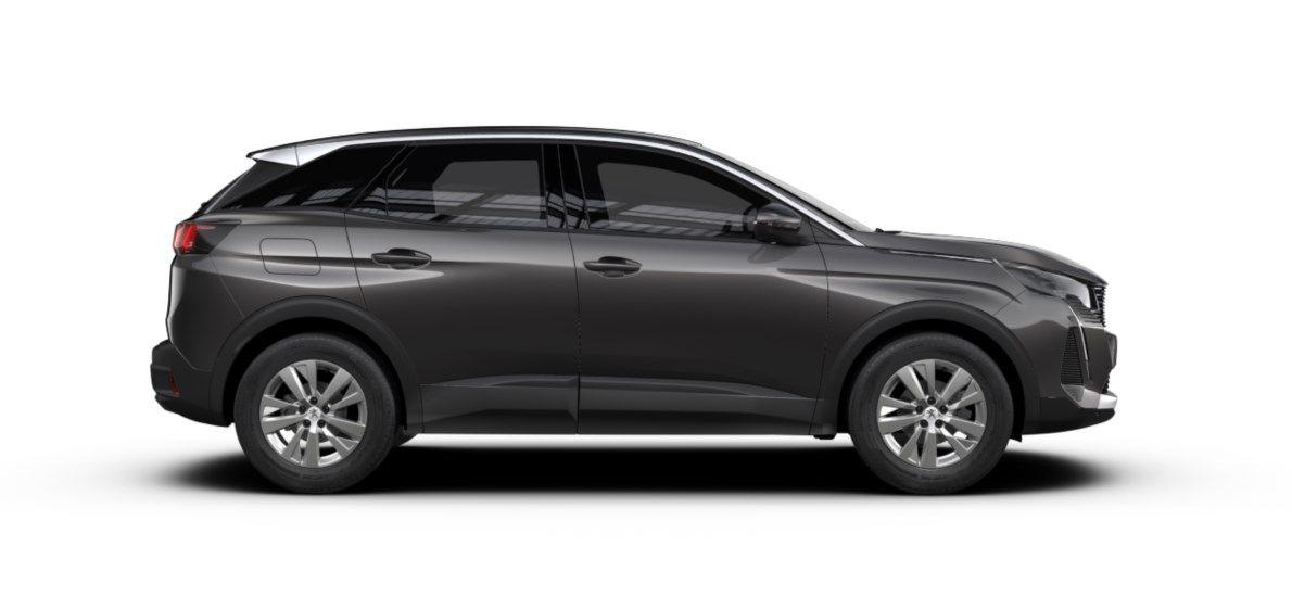 Nieuw Peugeot 3008 SUV Active Pack 1.5 BlueHDi 130 ch EAT8 Gris Platinium (M0VL) 4