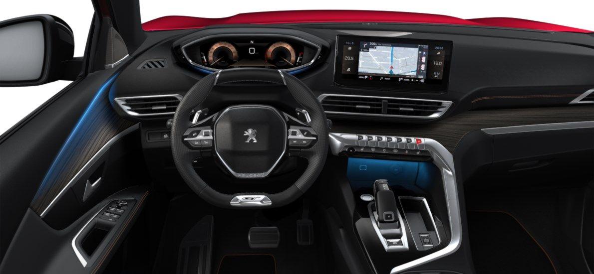 Nieuw Peugeot 3008 SUV GT Pack 1.2 PureTech 130 ch ?6.3 EAT8 Rouge Ultimate (M5F3) 10